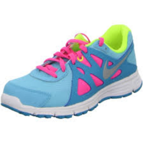 38d6a74bfc4 Nike Revolution 2 Junior Girl s Athletic Shoes